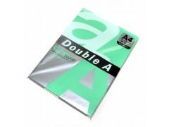Бумага цветная DOUBLE A, А4, 80 г/м, ярко-зеленый (Parrot), 100 листов