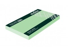 Бумага для заметок с липким слоем, разм. 127х75 мм, 100 л., цвет зеленый