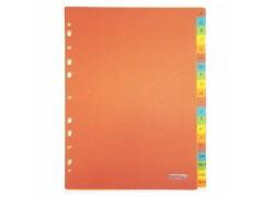 Разделитель картонный А-Я, Proff, ф.А4, арт. PFRZA4A-RRUS