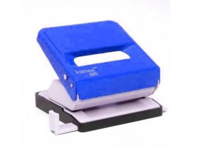 Дырокол 520 KANEX (ассорти) на 25 листов, цвет синий