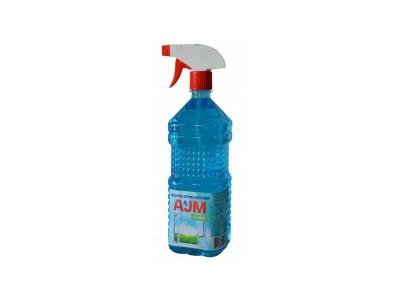 Средство для мытья окон AJM Glass, с триггером, 1л.