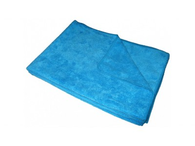 Салфетка для пола 50*59см., микрофибра, цв.голубой