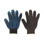 Перчатки трикотажные х/б из 4-х нитей 10 кл.вязки с ПВХ