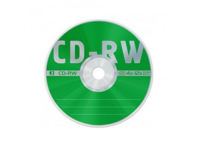 Диск CD-RW Data Standart 4X-12X 700Mb Bulk 50