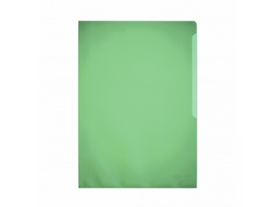 Папка-уголок Durable, A4, 120 микрон, глянец, полипропилен, цвет зеленый
