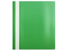 Папка-скорошиватель А5 формат!!! Hatber, пластик, ф. А5, 140/180мкм, цвет зеленый