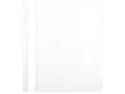 Папка-скорошиватель А5 формат!!! Hatber, пластик, ф. А5, 140/180мкм, цвет белый