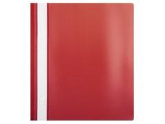 Папка-скорошиватель А5 формат!!! Hatber, пластик, ф. А5, 140/180мкм, цвет красный