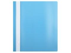 Папка-скорошиватель А5 формат!!! Hatber, пластик, ф. А5, 140/180мкм, цвет голубой
