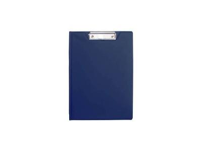 Клип-борд двойной, ф. А4, PVC, арт. 08-1260-2, цвет темно-синий