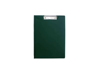 Клип-борд двойной, ф. А4, PVC, арт. 08-1260-2, цвет зеленый