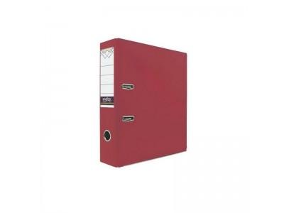 Папка-регистратор 80 мм, PVC, красная, с металлической окантовкой, арт. IND 8/24 PVC NEW КР