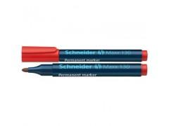 Маркер Schneider 130 перманентный 1-3 мм, цвет красный