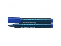 Маркер Schneider 130 перманентный 1-3 мм, цвет синий