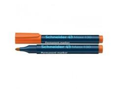 Маркер Schneider 130 перманентный 1-3 мм, цвет оранжевый