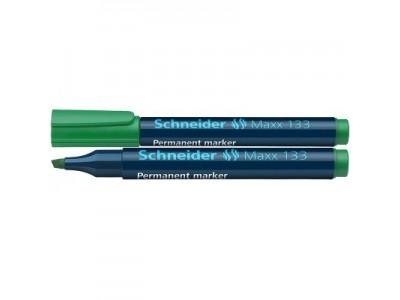 Маркер Schneider 133 перманентный 1-4 мм, цвет зеленый
