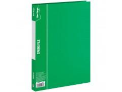 """Папка с пружинным скоросшивателем Berlingo """"Standard"""", 17мм, 700мкм, арт. MH2332, цвет зеленый"""