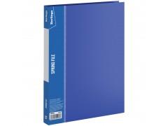 """Папка с пружинным скоросшивателем Berlingo """"Standard"""", 17мм, 700мкм, арт. MH2335, цвет синий"""