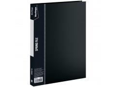 """Папка с пружинным скоросшивателем Berlingo """"Standard"""", 17мм, 700мкм, арт. MH2336, цвет черный"""
