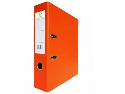 Папка-регистратор 50 мм, А4, ПВХ Эко, YESЛи, цвет оранжевый
