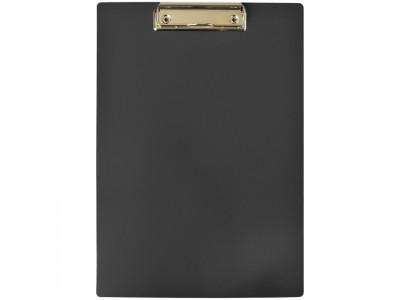 Планшет с зажимом OfficeSpace А4, пластик, цвет черный