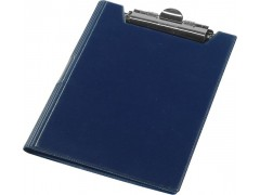 Клип-борд двойной Panta Plast, ф. А4, Vinyl, арт. 08-1226-2, цвет темно-синий