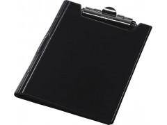 Клип-борд двойной Panta Plast, ф. А4, Vinyl, арт. 08-1226-2, цвет черный