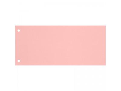 Полоска разделительная прямоугольная, 240х105, картон 180гр., 100 шт., цвет розовый
