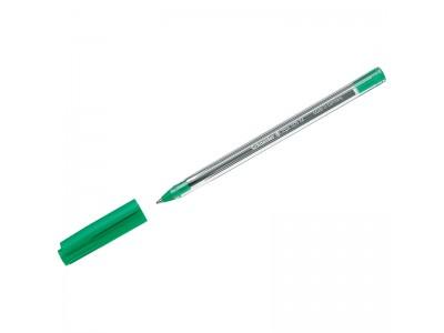 Ручка шариковая Schneider 505 М, цвет чернил зеленый