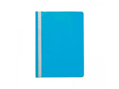 Папка-скоросшиватель, цвета ассорти, ф. А4, арт. KS-320BR SPONSOR, цвет голубой