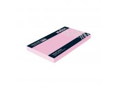 Бумага для заметок с липким слоем, разм. 127х75 мм, 100 л., цвет розовый