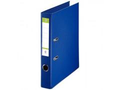 Папка-регистратор 50 мм, А4, ПВХ Эко, YESЛи,  цвет синий