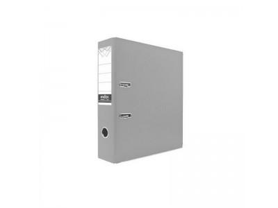 Папка-регистратор 80 мм, PVC, серая, с металлической окантовкой, арт. IND 8/24 PVC NEW СЕР
