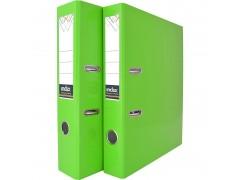 Папка-регистратор COLOURPLAY, 50 мм, ламинированная, неоновая, цвет зеленый