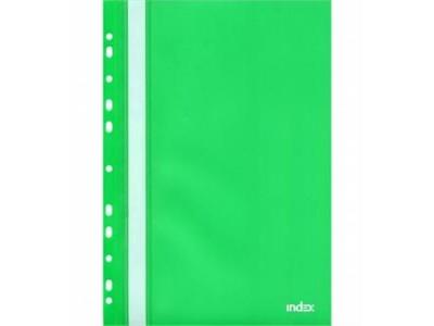 Папка-скоросшиватель с европланкой, ф.А4, зеленая, арт. 319/02/R