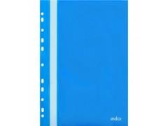 Папка-скоросшиватель с европланкой, ф.А4, синяя, арт. 319/04/R