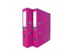 Папка-регистратор COLOURPLAY, 50 мм, ламинированная, неоновая, цвет сиреневый