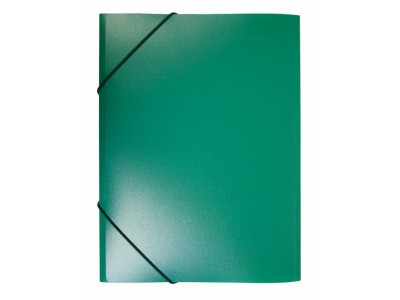 Папка на резинке Бюрократ -PR05 A4 пластик кор. 30мм 0.5мм, ассорти