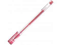 Ручка гелевая, пластиковый корпус, 0,6мм, арт. IGP600, цвет красный