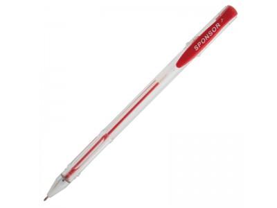 Ручка гелевая, 0,5 мм, цвета в ассортименте, арт. SGP01, цвет красный