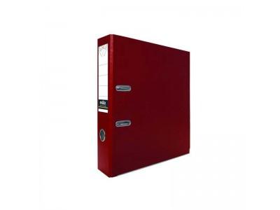 Папка-регистратор 80 мм, PVC, арт. IND 8/24 PVC, цвет бордовый
