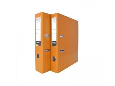 Папка-регистратор COLOURPLAY, 50 мм, ламинированная, неоновая, оранжевый