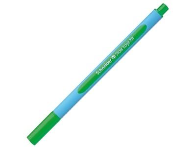 Ручка шариковая Schneider SLIDER EDGE XB, цвет чернил зеленый