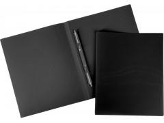 """Папка с пружинным cкоросшивателем Berlingo """"Line"""", 14мм, 500мкм, арт. AHn_00401, цвет черный"""