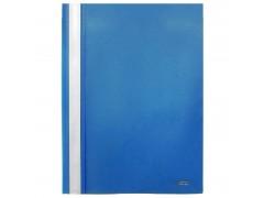 Папка-скоросшиватель, цвета ассорти, ф. А4, Index, цвет синий