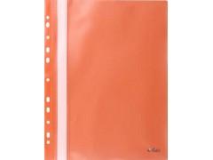Папка-скоросшиватель с европланкой, ф.А4, оранжевая, арт. 319/06/R