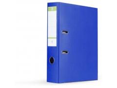Папка-регистратор 75 мм, А4, ПВХ Эко, YESЛи,  цвет синий