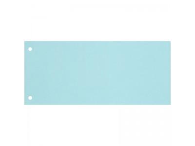 Полоска разделительная прямоугольная, 240х105, картон 180гр., 100 шт., цвет голубой