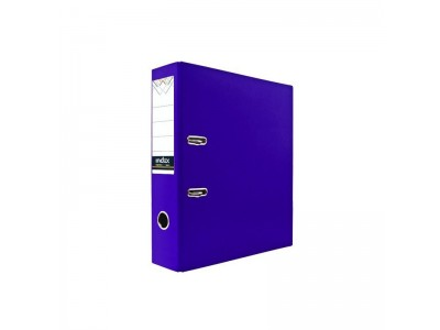 Папка-регистратор 80 мм, PVC, арт. IND 8/24 PVC, цвет фиолетовый
