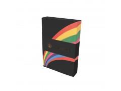 Бумага цветная Kaskad, 80гр, А4, 500 л., цвет черный